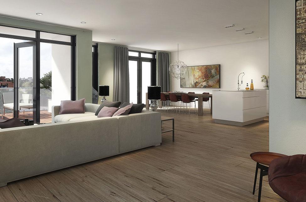 Appartementencomplex Noordwijk H&B Bouw