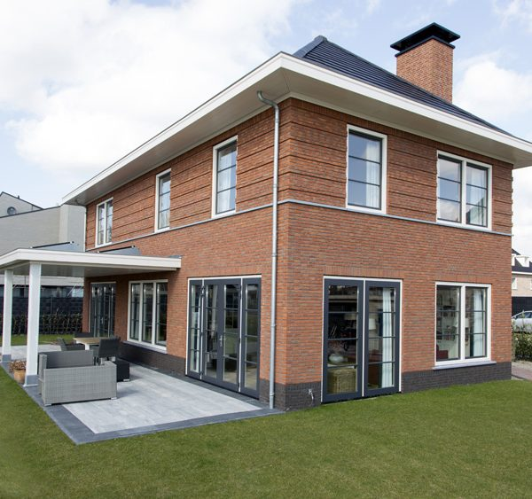 Nieuwbouw Woning Den Haag Buitenkant Met Tuin