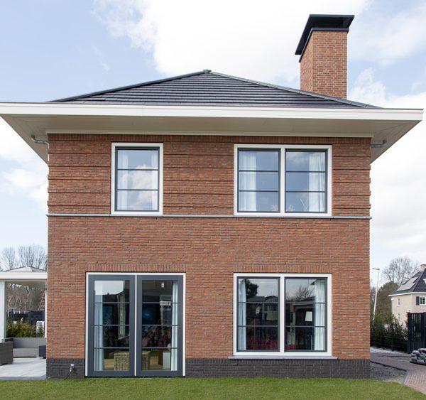 Nieuwbouw Woning Den Haag Buitenkant Zijkant
